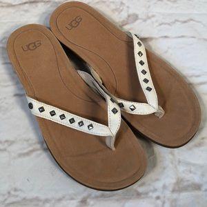 Ugg sandals! Size 8